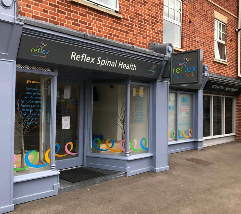 Reflex Spinal Health are the best Reading chiropractors, osteopaths and massage therapists in Berkshire.